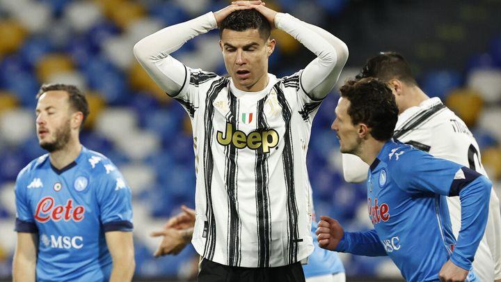 كريستيانو رونالدو يحمس لاعبى يوفنتوس قبل مواجة برتو البرتغالى فى دورى الابطال